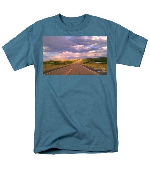 The Long Road Home Men's T-Shirt  (Regular Fit) by Chris Tarpening