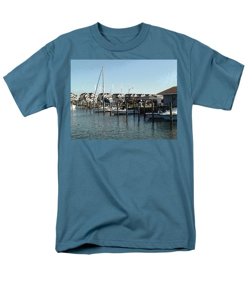 Men's T-Shirt  (Regular Fit) featuring the photograph The Narrows by Charles Kraus