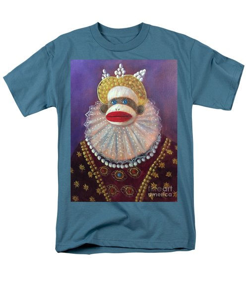 Men's T-Shirt  (Regular Fit) featuring the painting The Proud Queen by Randol Burns