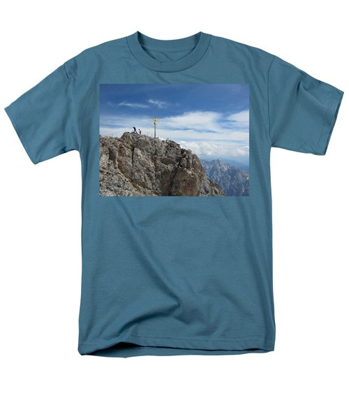 Men's T-Shirt  (Regular Fit) featuring the photograph The Summit by Pema Hou
