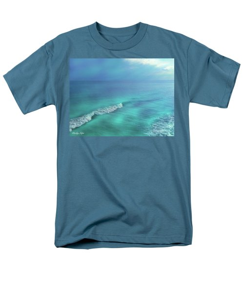 The Wave Men's T-Shirt  (Regular Fit) by Becky Lupe
