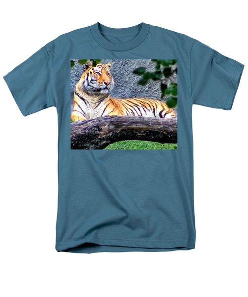 Men's T-Shirt  (Regular Fit) featuring the photograph Tiger 1 by Dawn Eshelman