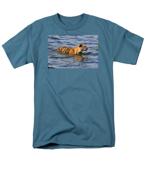 Tigress Of The Lake Men's T-Shirt  (Regular Fit) by Fotosas Photography