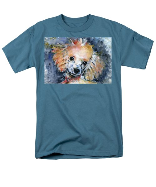 Toy Poodle Men's T-Shirt  (Regular Fit) by John D Benson