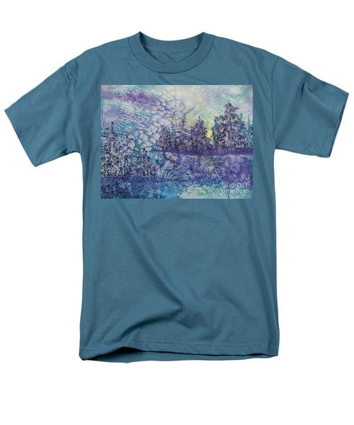 Tranquility Men's T-Shirt  (Regular Fit) by Ellen Levinson