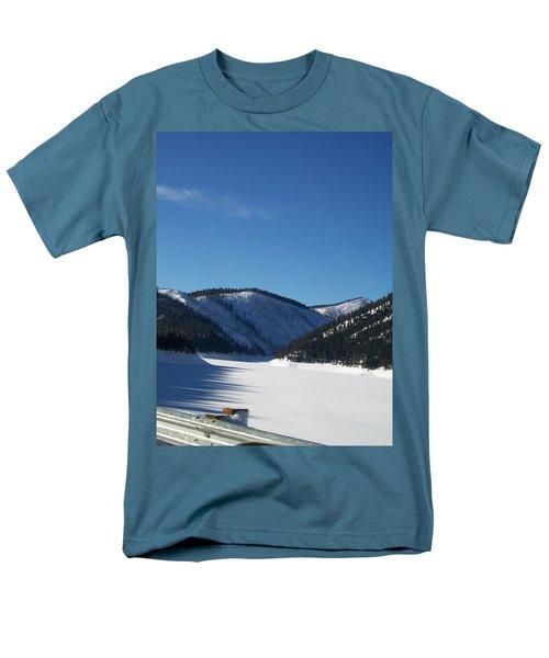 Tree Shadows Men's T-Shirt  (Regular Fit) by Jewel Hengen