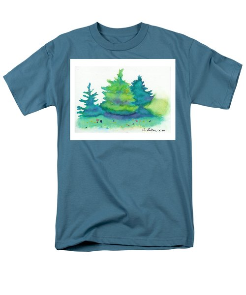 Trees 2 Men's T-Shirt  (Regular Fit) by C Sitton