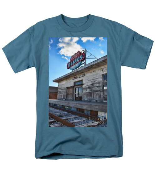 Tunica Gateway To The Blues Men's T-Shirt  (Regular Fit) by Donna Greene