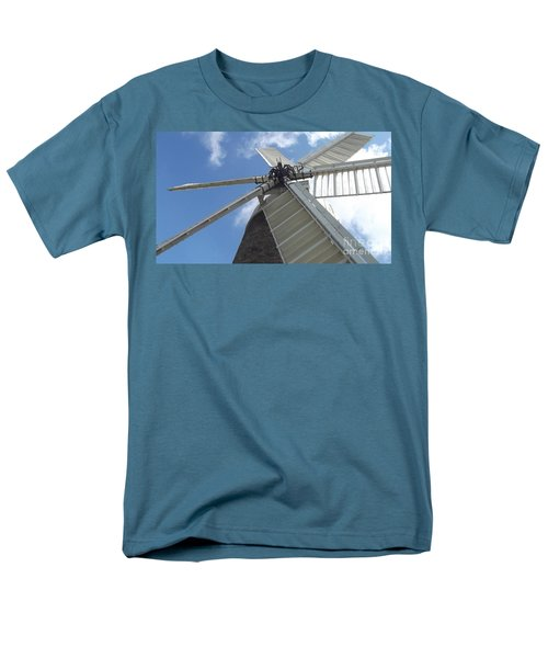 Men's T-Shirt  (Regular Fit) featuring the photograph Turning In The Wind by Tracey Williams