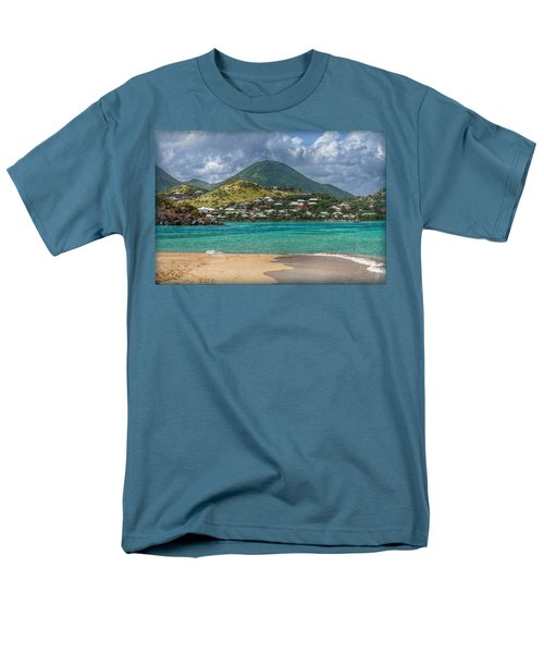 Men's T-Shirt  (Regular Fit) featuring the photograph Turquoise Paradise by Hanny Heim