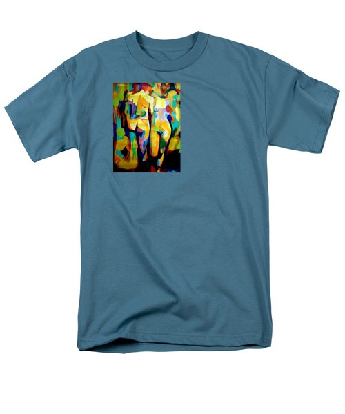 Men's T-Shirt  (Regular Fit) featuring the painting Two Nudes by Helena Wierzbicki