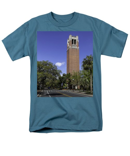 Uf Century Tower And Newell Drive Men's T-Shirt  (Regular Fit) by Lynn Palmer