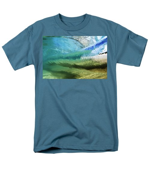 Underwater Wave Curl Men's T-Shirt  (Regular Fit) by Vince Cavataio - Printscapes
