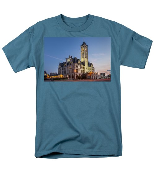 Union Station  Men's T-Shirt  (Regular Fit) by Brian Jannsen