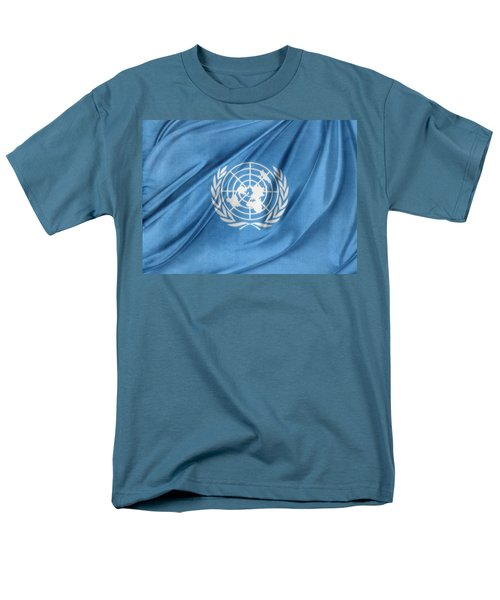 United Nations Men's T-Shirt  (Regular Fit) by Les Cunliffe