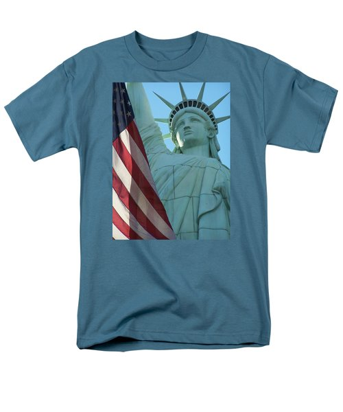 United States Of America Men's T-Shirt  (Regular Fit) by Jewels Blake Hamrick