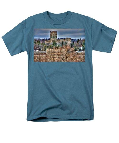 Usma Cadet Chapel Men's T-Shirt  (Regular Fit) by Dan McManus