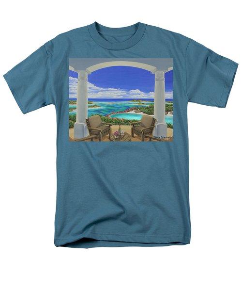 Vacation View Men's T-Shirt  (Regular Fit)