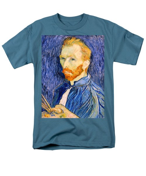 Men's T-Shirt  (Regular Fit) featuring the photograph Van Gogh On Van Gogh by Cora Wandel