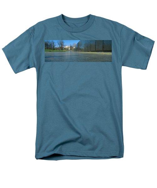 Vietnam Veterans Memorial, Washington Dc Men's T-Shirt  (Regular Fit) by Panoramic Images