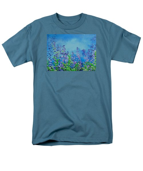 Walk Out Into The Fields Men's T-Shirt  (Regular Fit) by Dan Whittemore