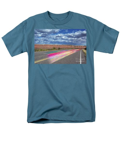 Men's T-Shirt  (Regular Fit) featuring the digital art Walking With God by Margie Chapman