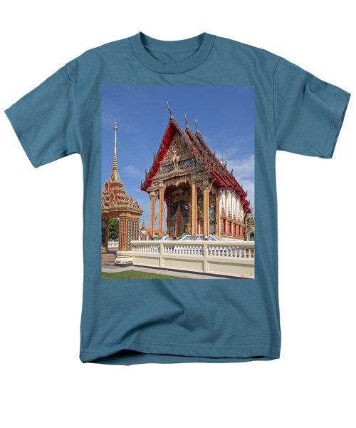 Men's T-Shirt  (Regular Fit) featuring the photograph Wat Choeng Thalay Ordination Hall Dthp138 by Gerry Gantt
