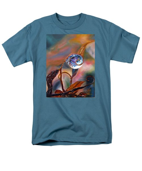 Water Drop Reflections Men's T-Shirt  (Regular Fit) by LaVonne Hand