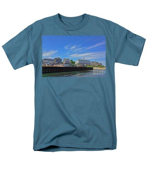 Water Street Block Island Men's T-Shirt  (Regular Fit) by Todd Breitling