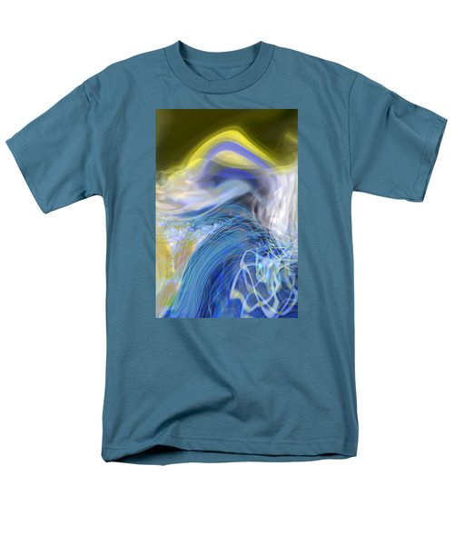 Men's T-Shirt  (Regular Fit) featuring the digital art Wave Theory by Richard Thomas