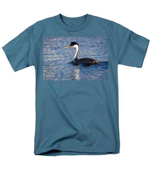 Men's T-Shirt  (Regular Fit) featuring the photograph Western Grebe by Jack Bell