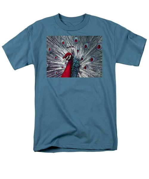 What If - A Fanciful Peacock Men's T-Shirt  (Regular Fit)
