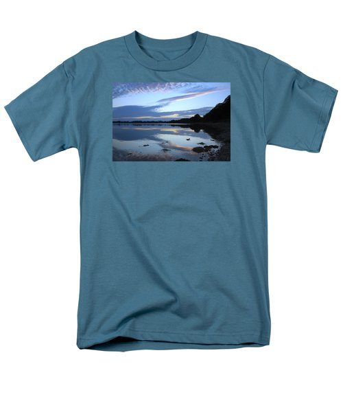 Men's T-Shirt  (Regular Fit) featuring the photograph When Gold Turned To Blue by Wendy Wilton