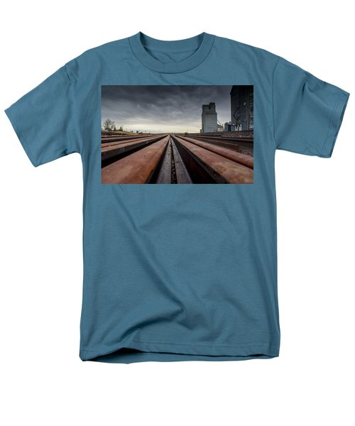 Where It Goes-2 Men's T-Shirt  (Regular Fit) by Fran Riley