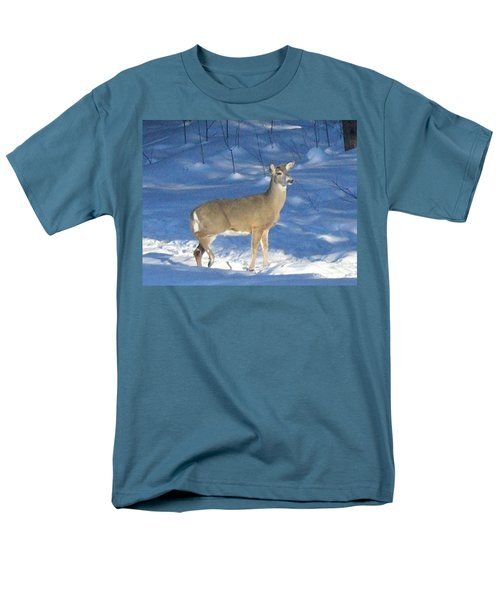 Men's T-Shirt  (Regular Fit) featuring the photograph White Tail Deer by Brenda Brown