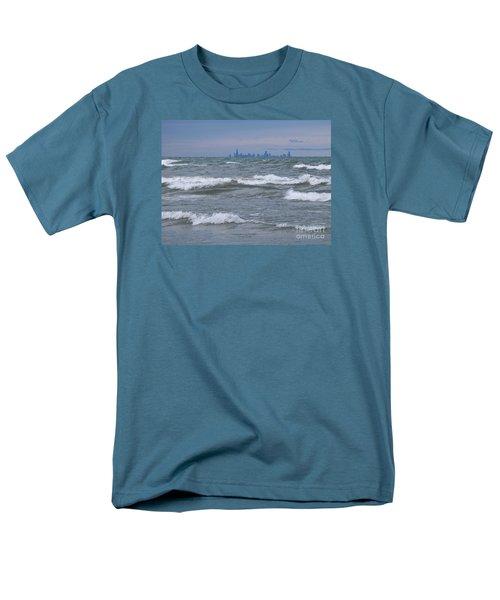 Windy City Skyline Men's T-Shirt  (Regular Fit)