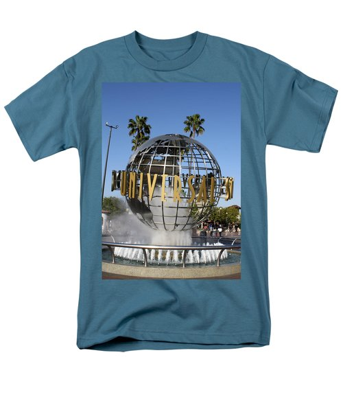 World Of Universal Men's T-Shirt  (Regular Fit) by David Nicholls