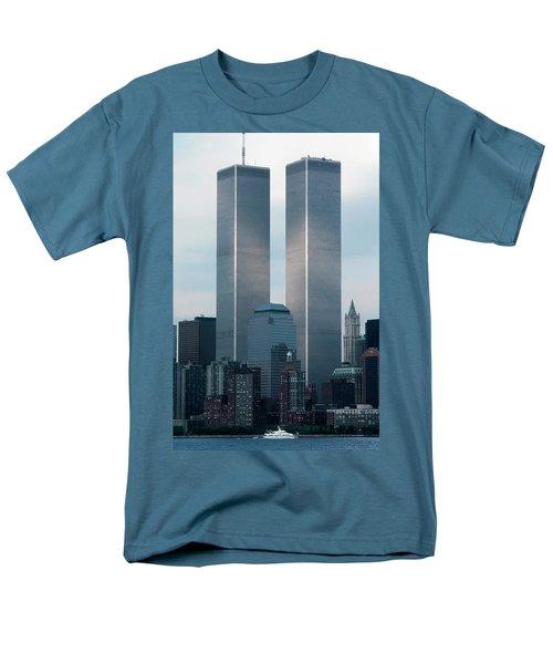 World Trade Center Men's T-Shirt  (Regular Fit) by KG Thienemann
