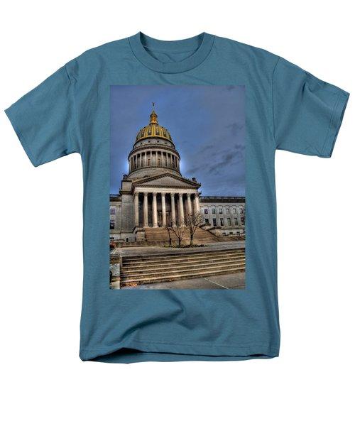 Wv Capital Building 2 Men's T-Shirt  (Regular Fit) by Jonny D