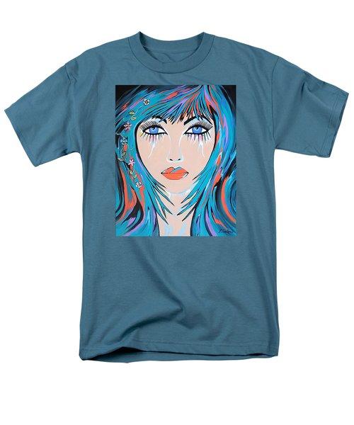 Men's T-Shirt  (Regular Fit) featuring the painting Zahara by Kathleen Sartoris