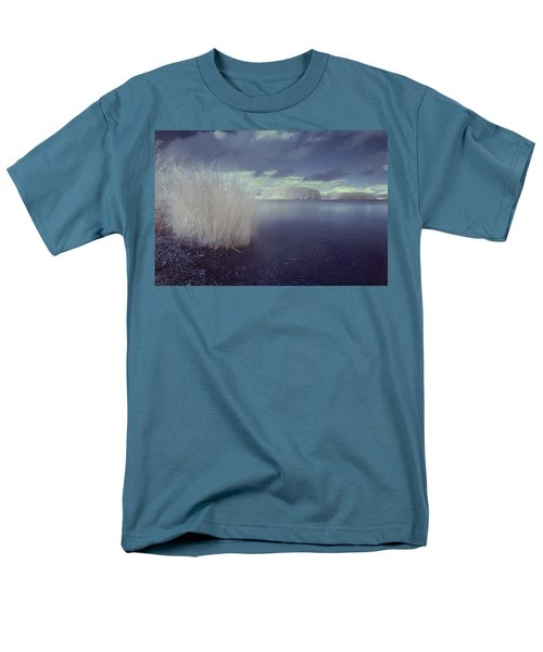Men's T-Shirt  (Regular Fit) featuring the photograph  Infrared At Llyn Brenig by Beverly Cash