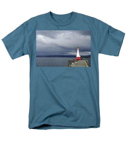 Men's T-Shirt  (Regular Fit) featuring the photograph Stormwatch by Marilyn Wilson