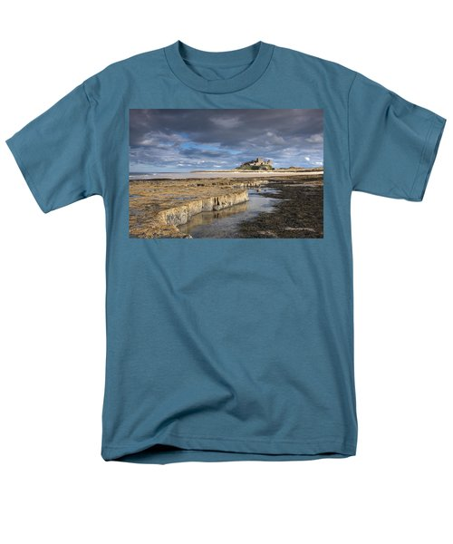 A View Of Bamburgh Castle Bamburgh Men's T-Shirt  (Regular Fit) by John Short