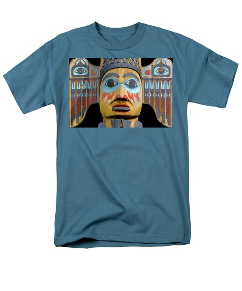 Alaska Totem Men's T-Shirt  (Regular Fit) by Mark Greenberg
