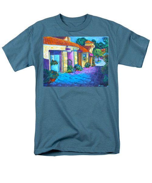 Artist Village Men's T-Shirt  (Regular Fit) by Diana Haronis