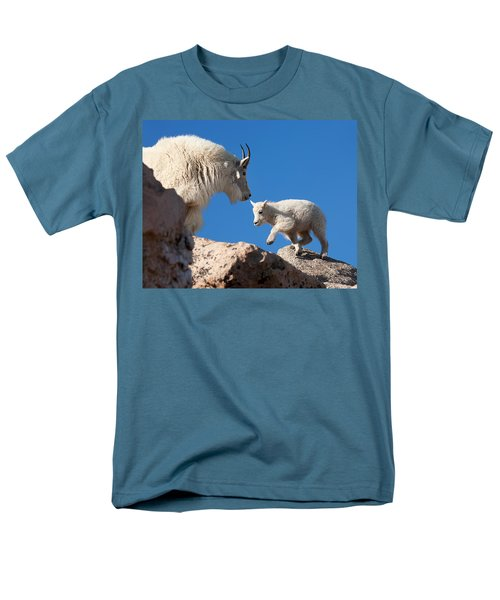 Men's T-Shirt  (Regular Fit) featuring the photograph Baby Steps by Jim Garrison