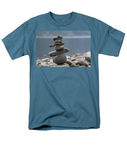 Balance Men's T-Shirt  (Regular Fit) by Cathie Douglas