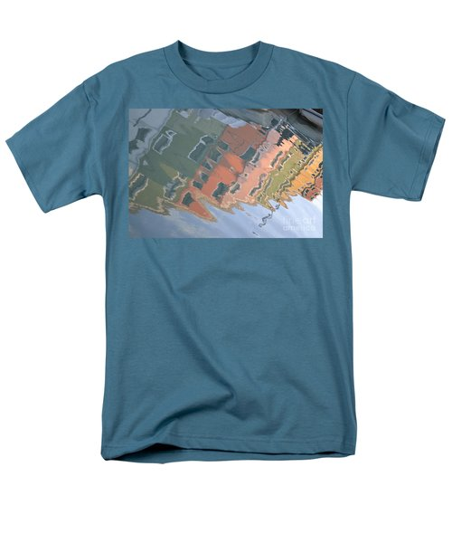 Men's T-Shirt  (Regular Fit) featuring the photograph Burano House Reflections by Rebecca Margraf