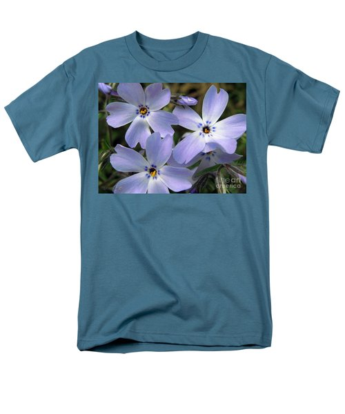 Men's T-Shirt  (Regular Fit) featuring the photograph Creeping Phlox by J McCombie