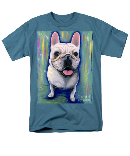 Dino The French Bulldog Men's T-Shirt  (Regular Fit) by Ania M Milo